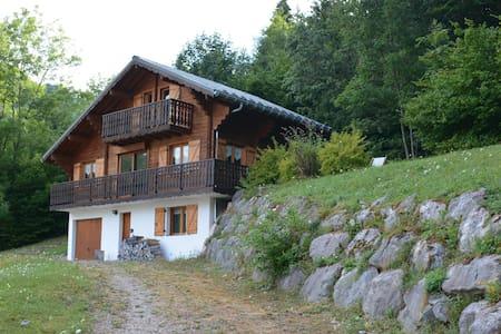 Beautiful Alpine Chalet - Vacheresse