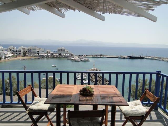 Apartment with excellent Sea View - Piso Livadi - Apartemen