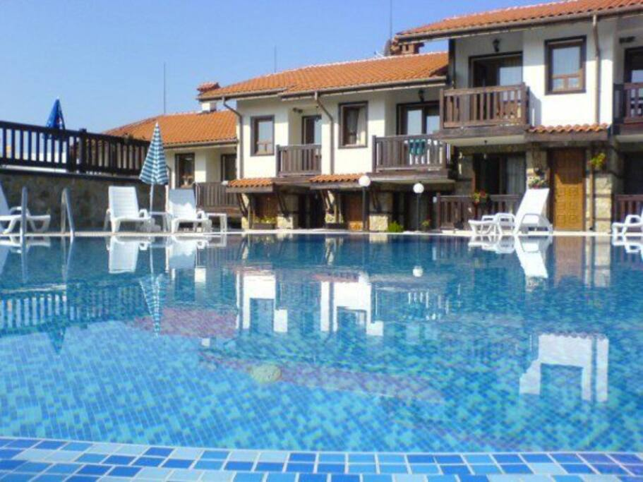 Two Bedroom Cottages Swimming Pool Houses For Rent In Sozopol Burgas Bulgaria