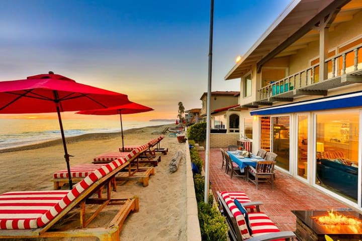 Exclusive Beachfront Home w/ Jacuzzi + Unparalleled Views