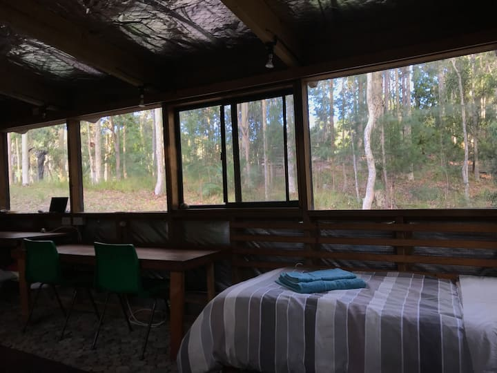 Narra Bukulla: cabin in the forest, glamping style