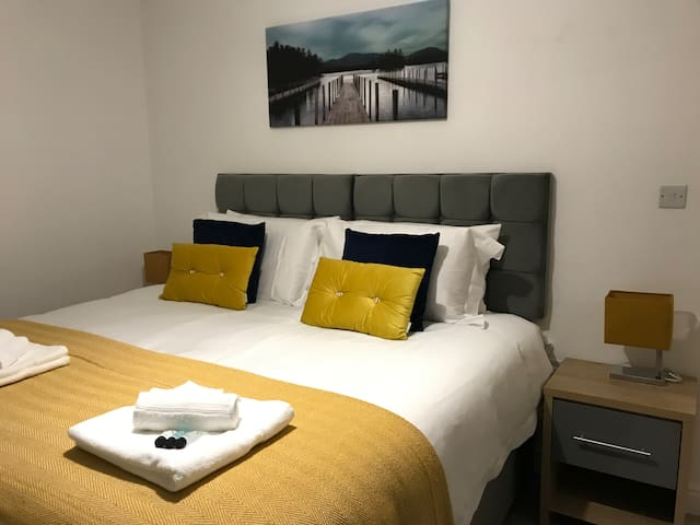Marie's Serviced Apartment 2beds City Stay,Parking