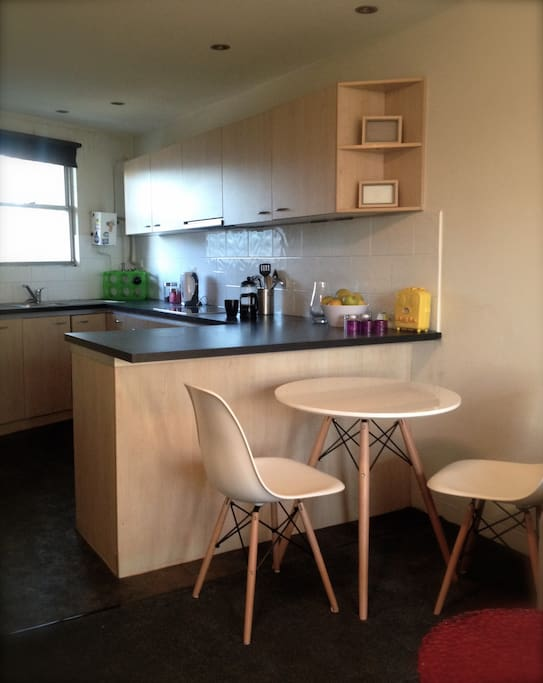 Modern kitchen, contemporary furnishings