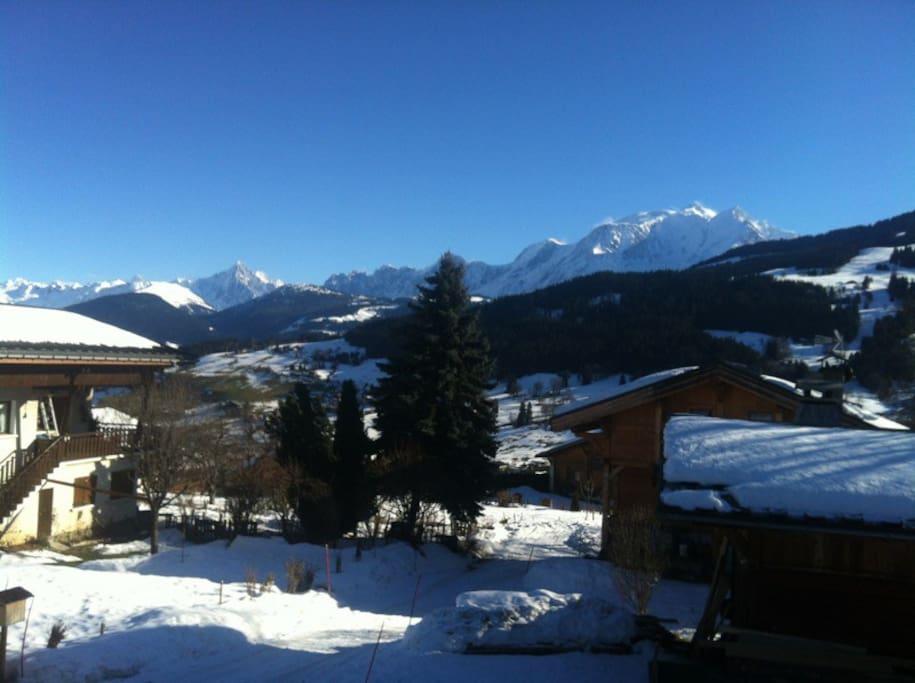 View Mont Blanc