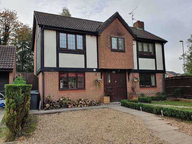 Single room in modern detached house
