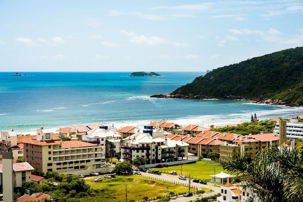 Vista da praia - mirante