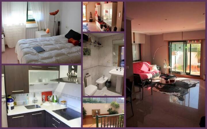 Apartamento en Sanxenxo con terraza 53m2 y garaje