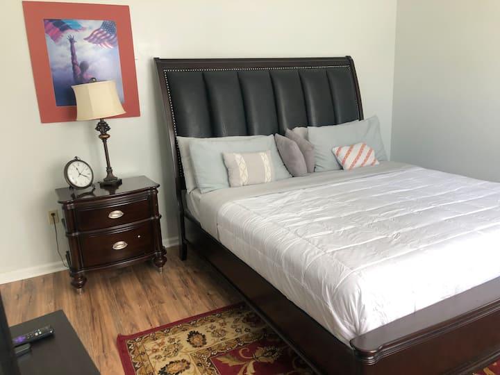 Restful night en-suite Bedroom