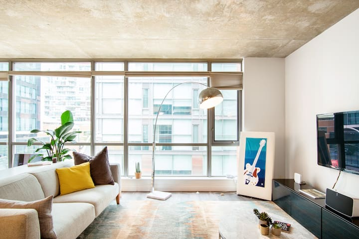 Spacious Luxury 2BR  Loft near King West