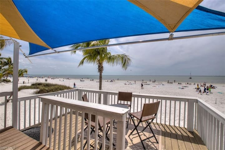 Private Beach Home with 130 ft of Sandy Beach, Panoramic Water Views