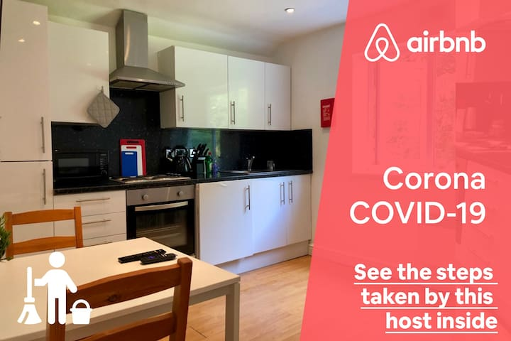 Cardiff University Apartment w/ Heating + Roku!