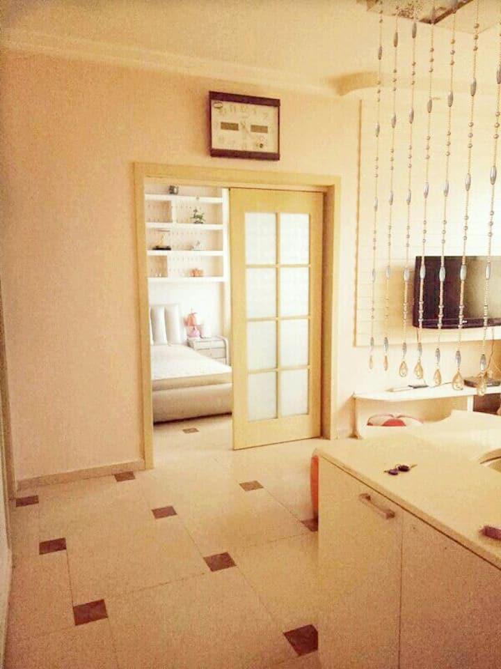 太一家庭公寓一室一厅一厨一卫精装豪华大床房(套间)