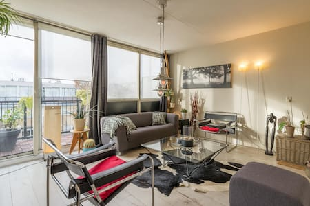 A'dam apt. with ARTISTIC expressions & great VIEW! - Amsterdam