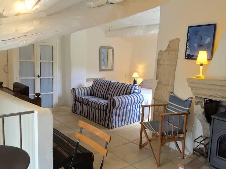 Studio Duplex - Terrasse et piscine 10 x 5