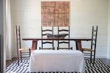 Dining Room in Guest House