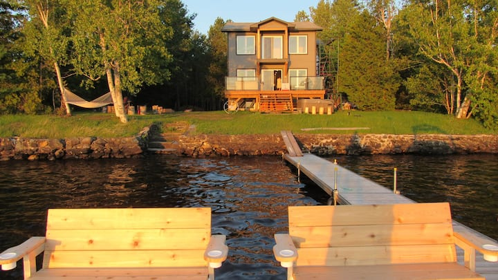 Sunset chalet Lac Aylmer