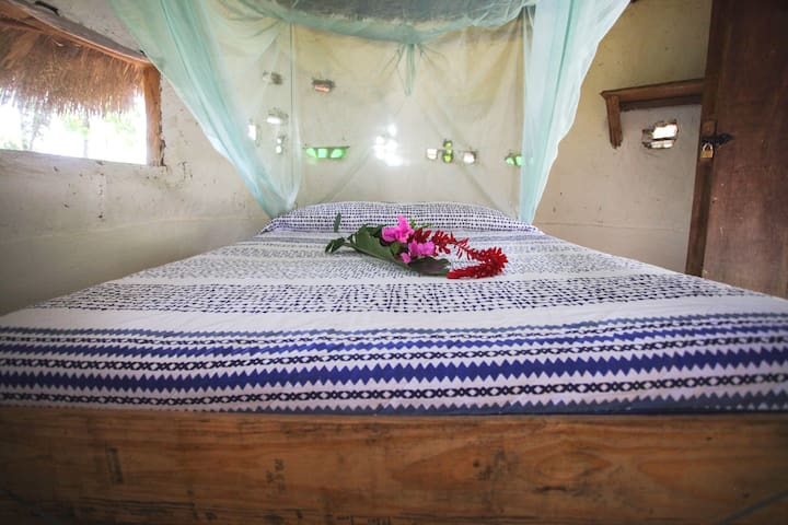 Indigenous Hut with shared bathroom