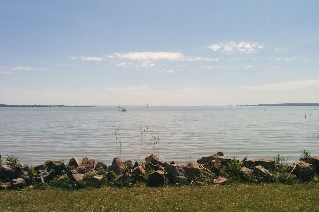 The wonderful Lake Balaton