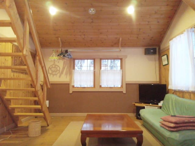 Relaxing Cottage in Kurohime-黒姫B