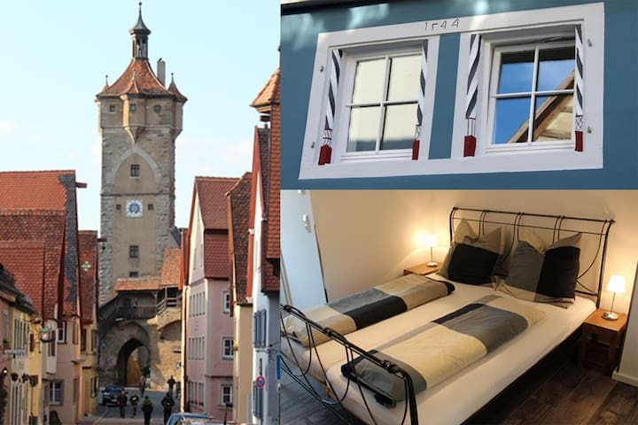 Modern apartment in the medieval center - Rothenburg ob der Tauber - Leilighet