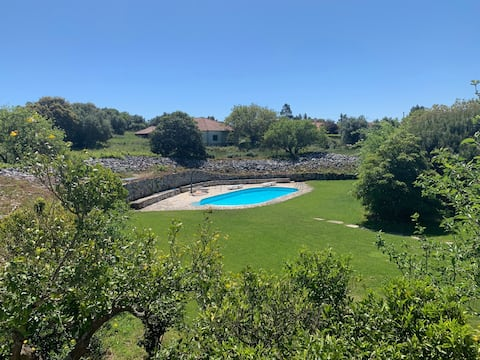 CASA SERRA DAIRE - COUNTRY HOUSE WITH POOL