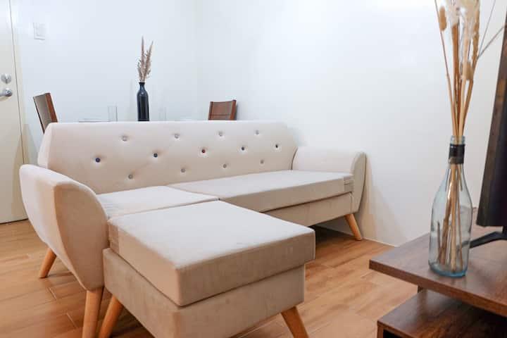 2BR clean and brand-new condo unit