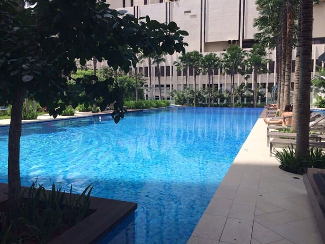Bright Appartment in Central Singap - Singapore - Lejlighed