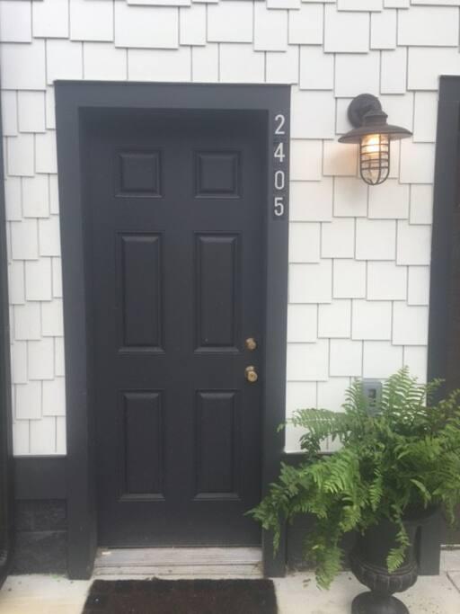 Your entry door