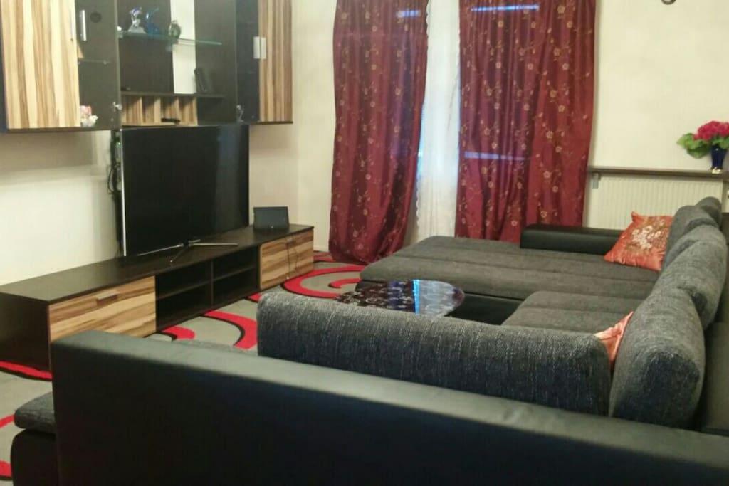 Spacious Living room pic 1