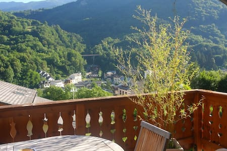 Single room in a pretty house - Brides-les-Bains - Casa