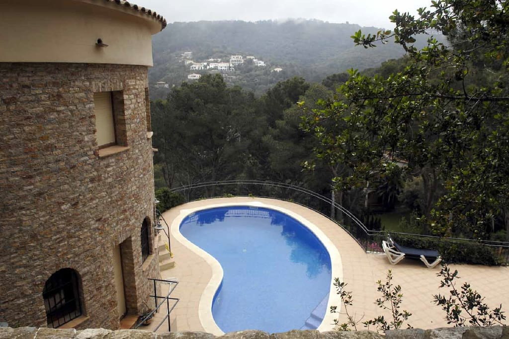 152 villa avec piscine priv e villas louer begur - Villa espagne avec piscine privee ...