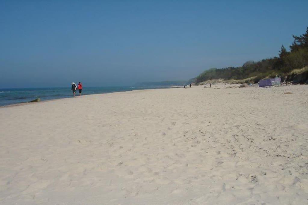 feinsandiger Strand nur ca. 300m. entfernt