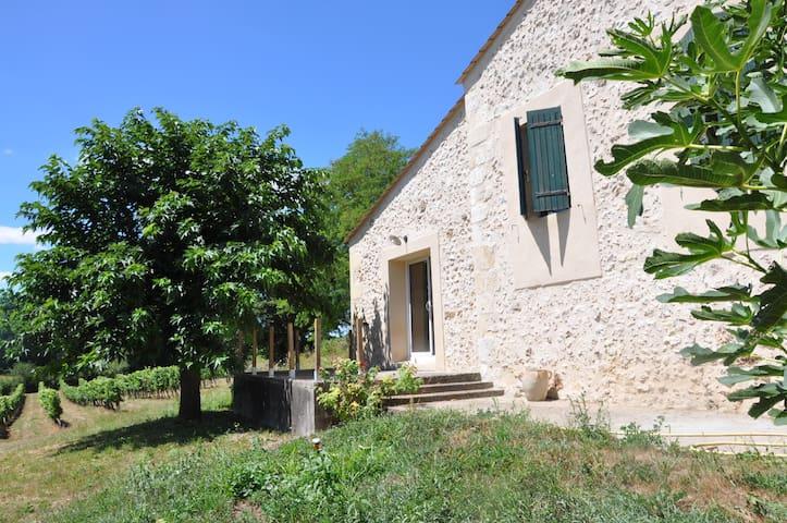 Maison de vigneron Périgord pourpre - Lamothe-Montravel - Haus