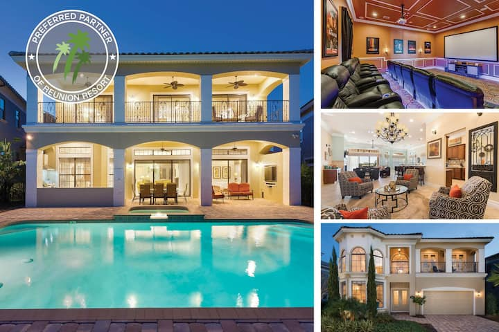 Island Dream Villa | Amazing 5,092 sq. ft Villa with Large Pool, 2 Game Rooms