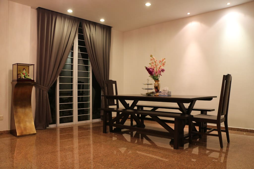 Living Room - Dining Area