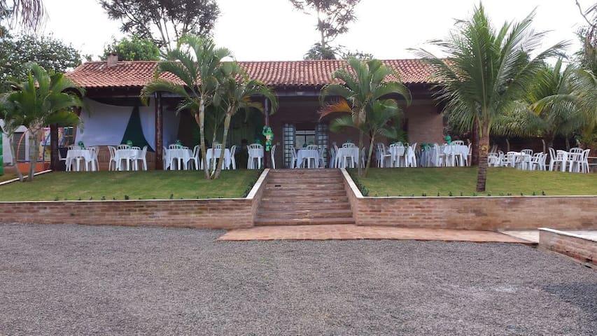 Chácara do Zico.