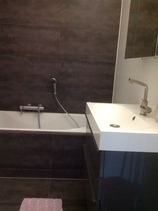 Bathroom, also with toilet