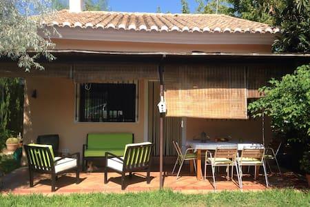 Casa rural con jardín y piscina. - Alfauir