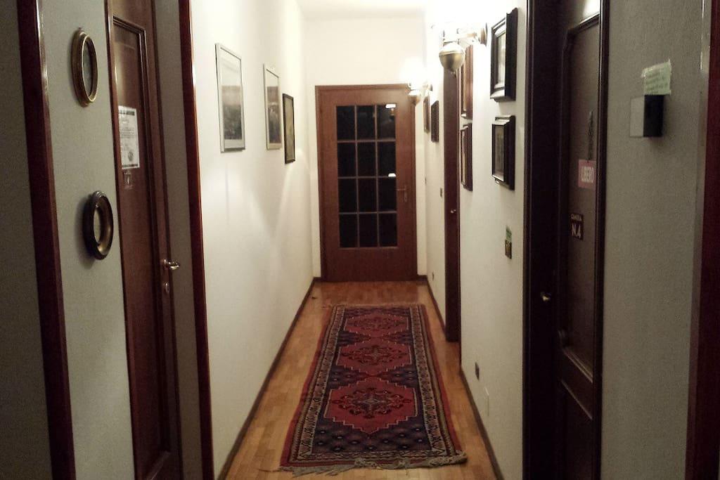 corridoio della camera