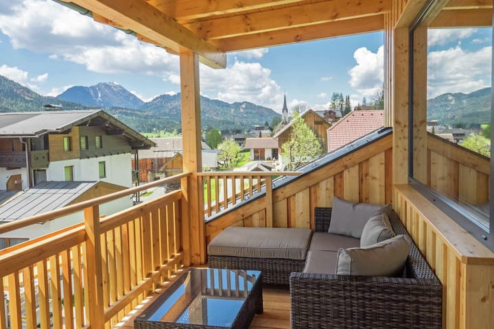 Sunlit Apartment near Ski Area in Weissensee