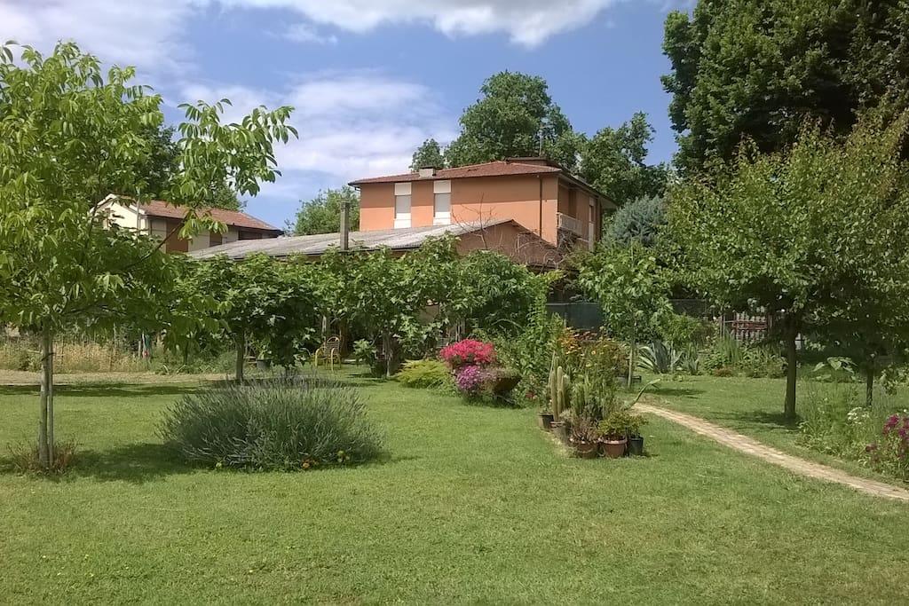 Giardino e orto a 50m da casa