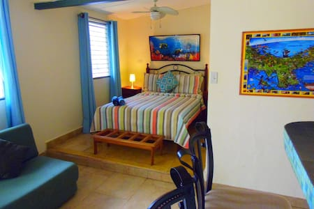 Beautiful Studio B&B Wi-Fi Patio TV - Isla Contadora - Bed & Breakfast