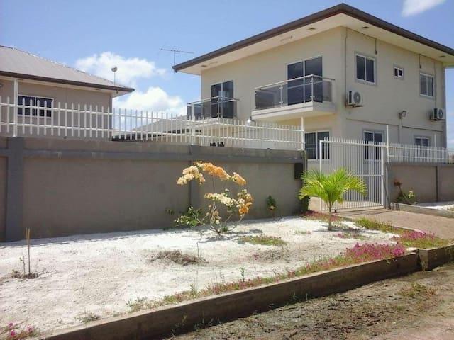 Appartementen in paramaribo noord met zwembad