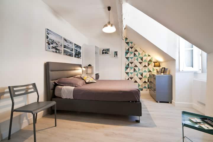 Beau studio centre-historique Wifi/Draps/Calme/40€