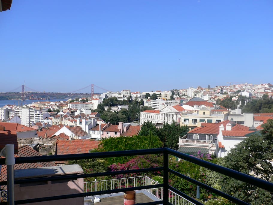 Amazing views of Lisbon