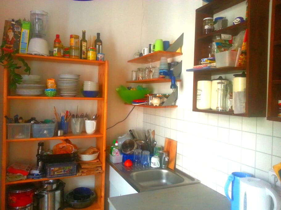 the kitchen with all tools required - i hope so at least ;-)