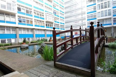 Affordable King Rm in Leisure Apt - London - Apartment