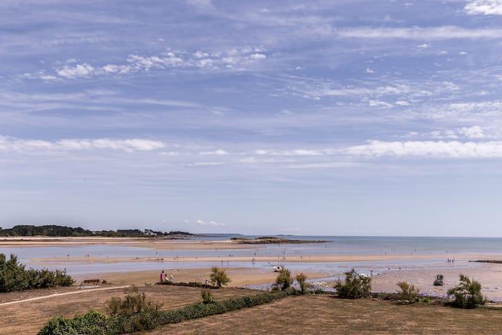 T2 10 m du rivage Calme et Beauté.