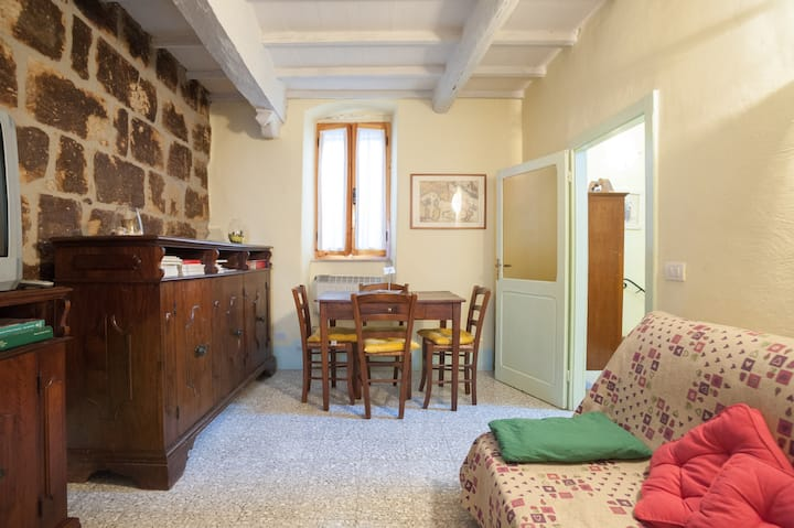 Two-room apartment in the historica
