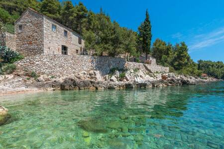 Great sea view house on island Hvar - Gdinj - Talo